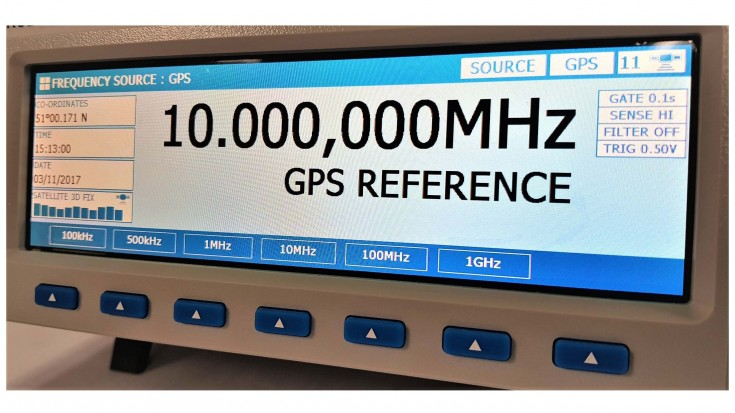 8700 Frequency Source/Measurement GPS Standard