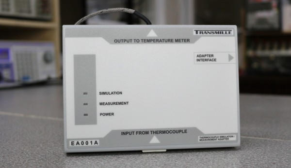 EA001A Thermocouple Simulation & Measurement Adapter